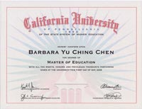 Ms. Chen Master In Education